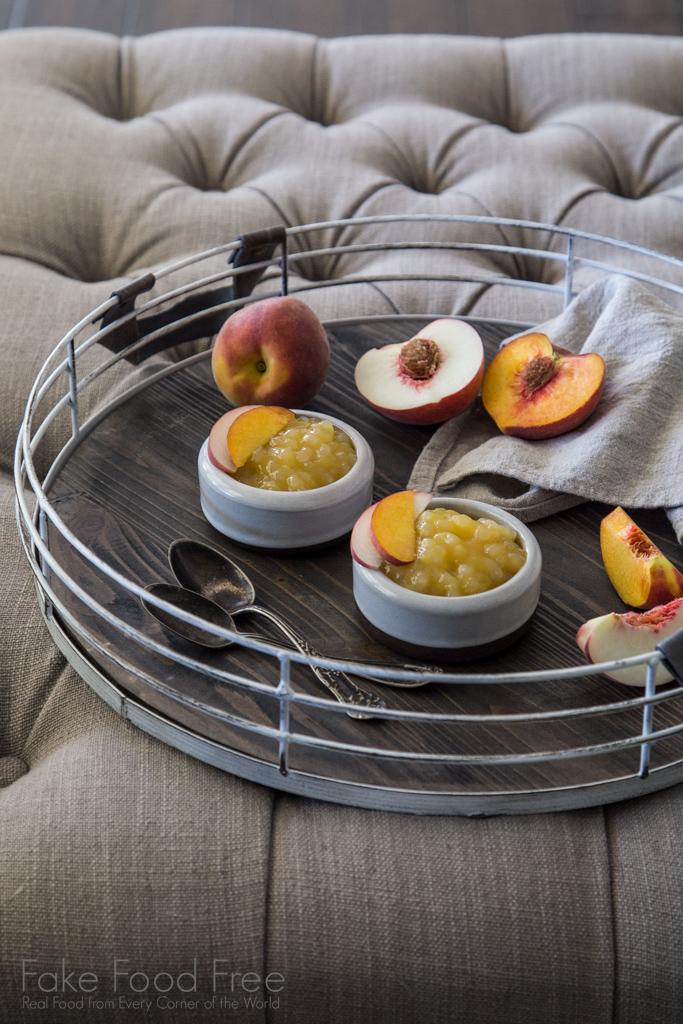 Sagu de Vinho with Peaches and White Wine Recipe | Fake Food Free