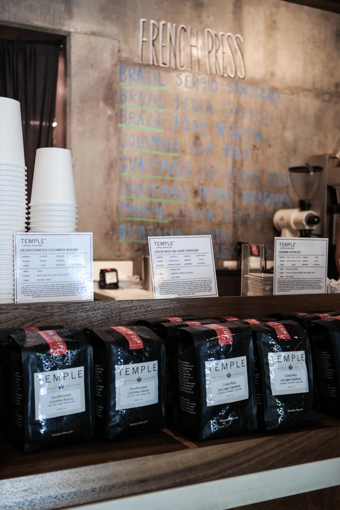 Temple Coffee Roasters, Sacramento   Food and Drink Travel   Fake Food Free