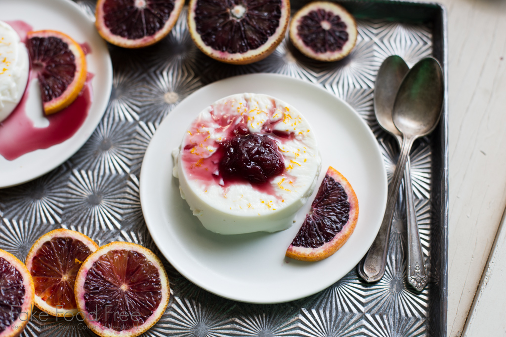 Anise Blood Orange Panna Cotta Recipe