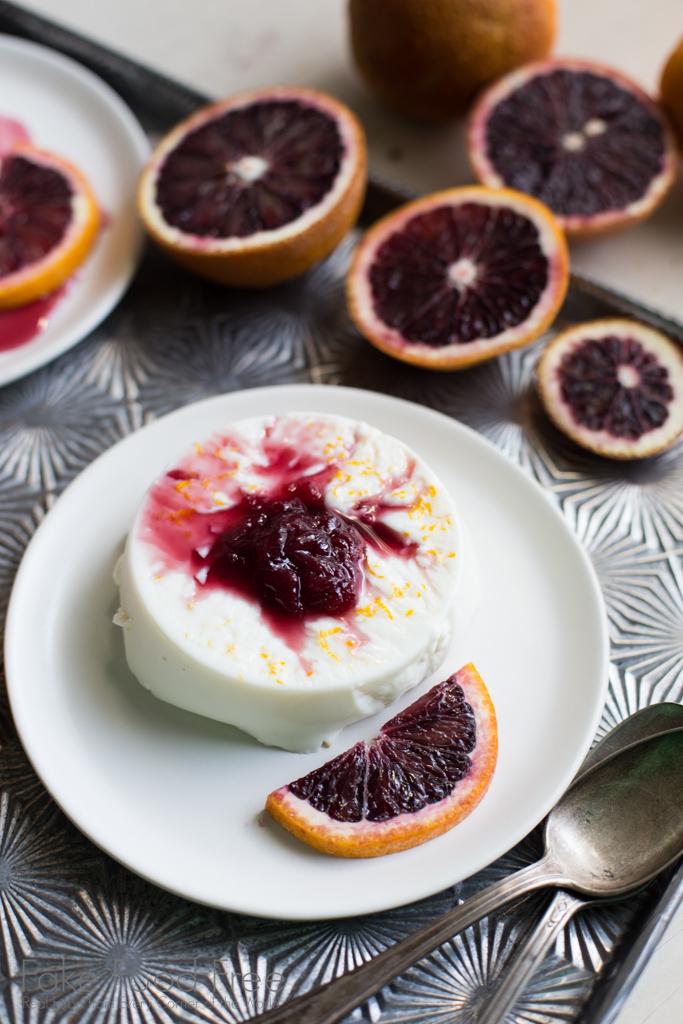 Anise Blood Orange Panna Cotta Recipe | Fake Food Free