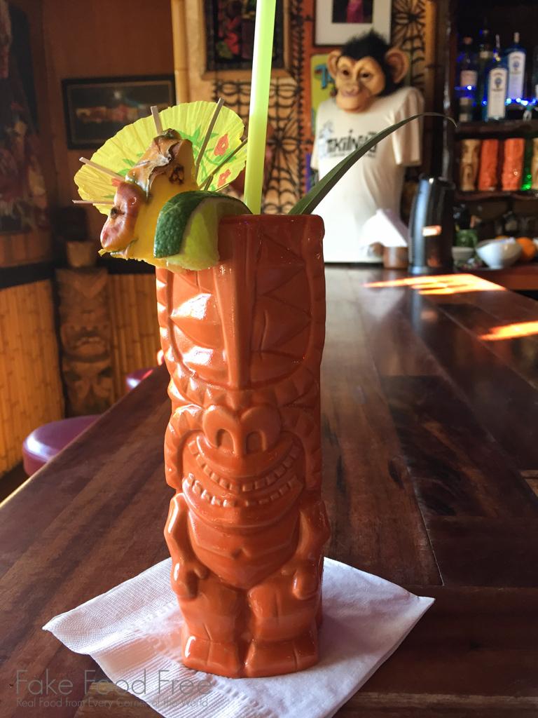 Mai Tai from Tiki Iniki in Kauai   What to Eat in Kauai   Fake Food Free Travels