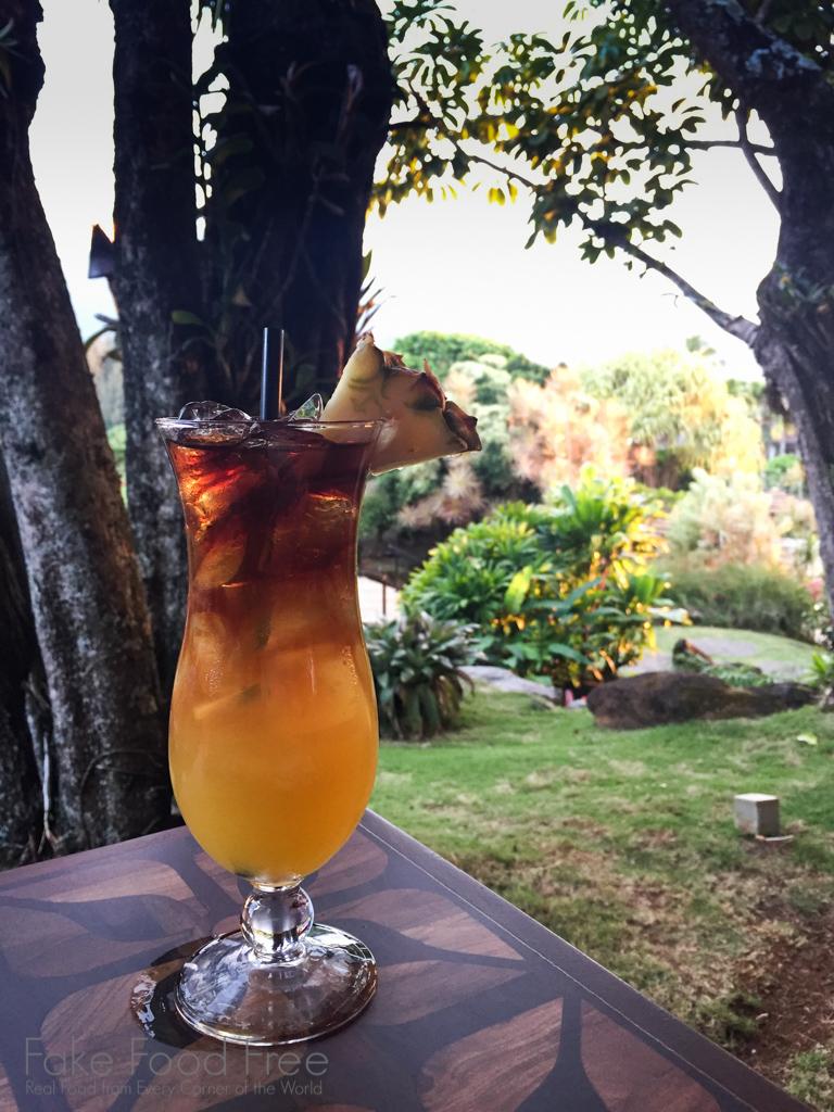 Mai Tai at Happy Talk Lounge   What to Eat in Kauai   Fake Food Free Travels