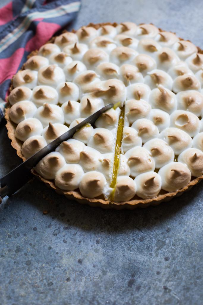 Pineapple Tart with Italian Meringue Recipe