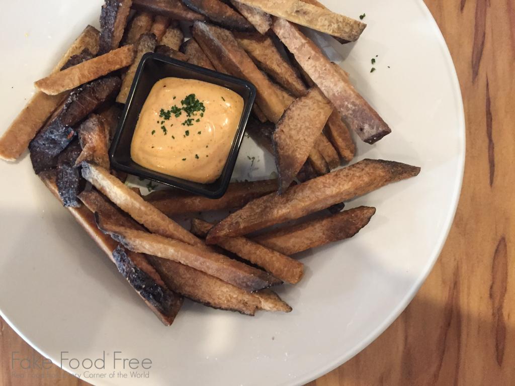 Taro Fries Kauai Beer Co.   Fake Food Free Travel