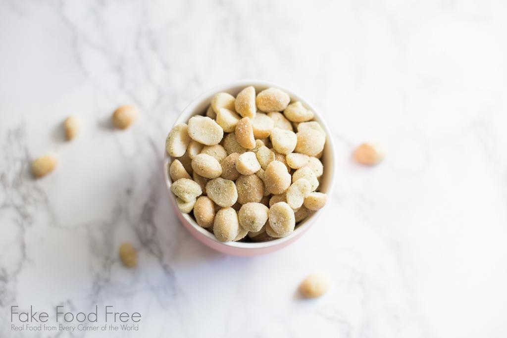 Maui Onion Macadamia Nuts | Hawaiian Products to Buy at Costco Kauai | Fake Food Free Travels