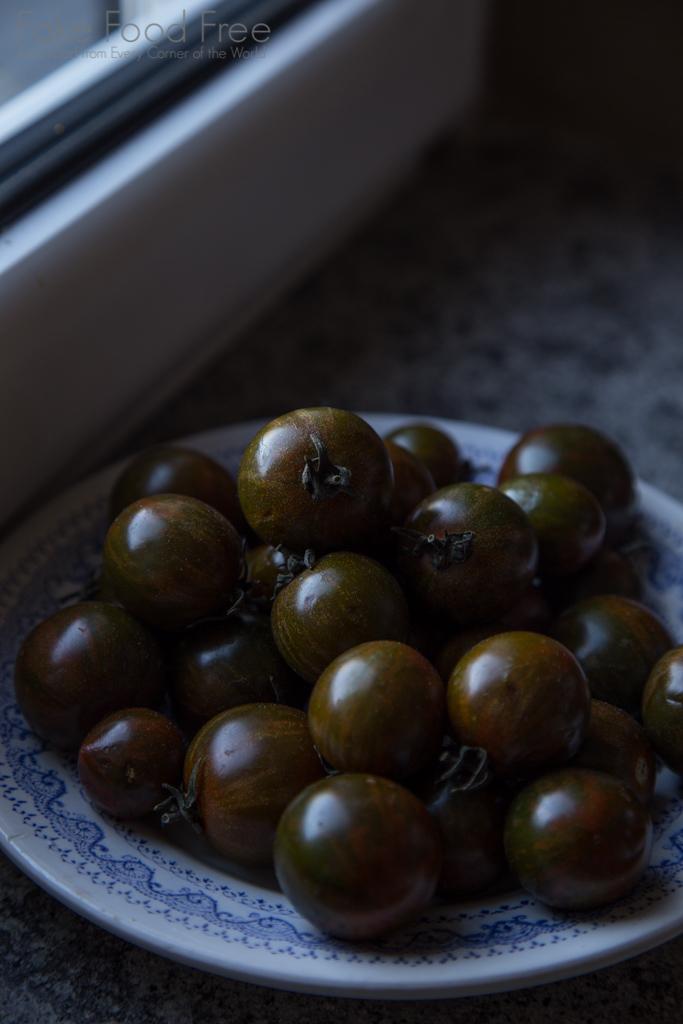 Italian Tomatoes in Torri in Sabina