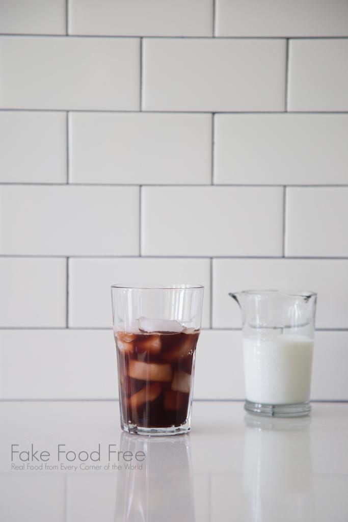 Iced Blackberry Latte