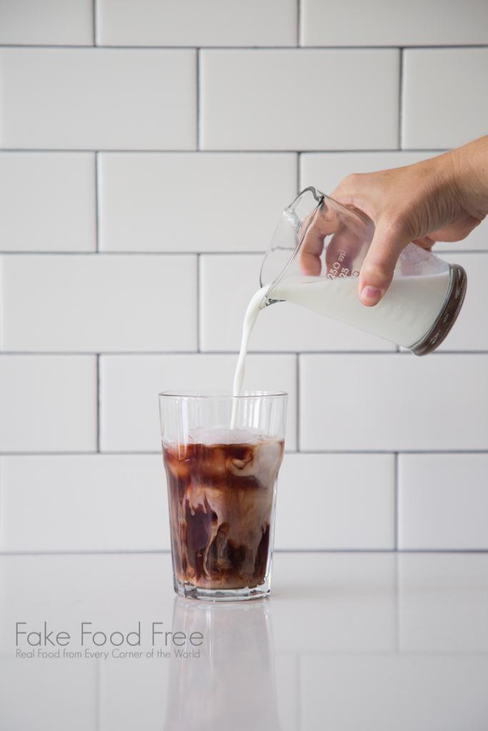 Iced Blackberry Latte Recipe