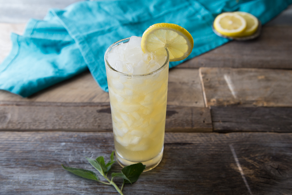 Pineapple Sage Bourbon Lemonade Cocktail Recipe