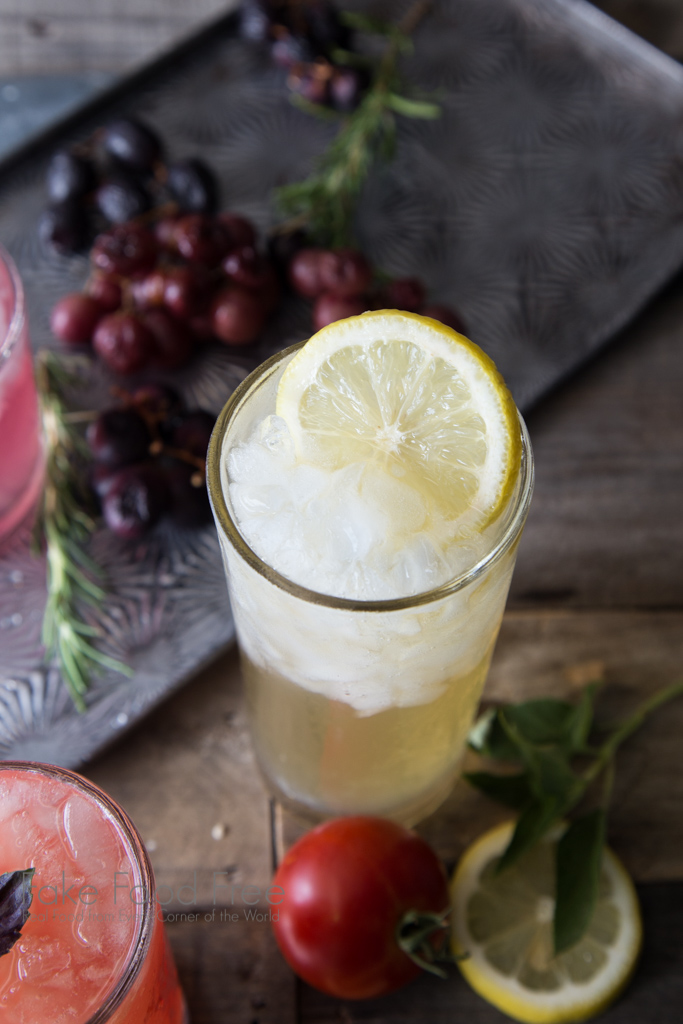 Pineapple Sage Bourbon Lemonade