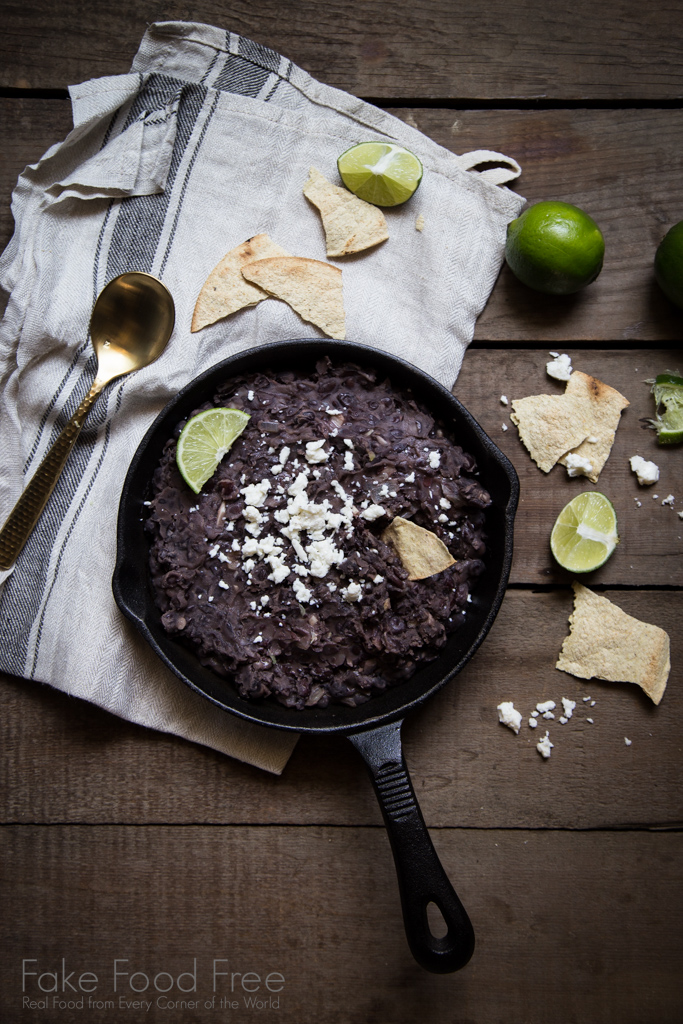 Black Beans with Garlic and Lime Recipe