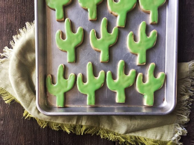Holiday Ale Cut-Out Cookies made with Pumpkin Ale from the cookbook Food on Tap!
