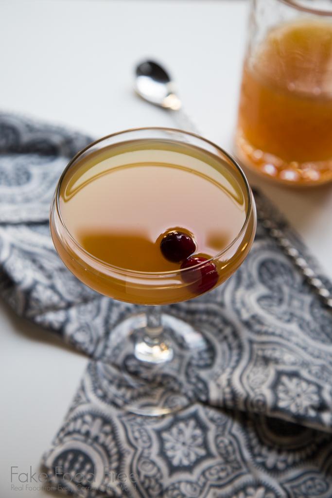Apple Cider Rum Punch | Cocktail Recipe | FakeFoodFree.com