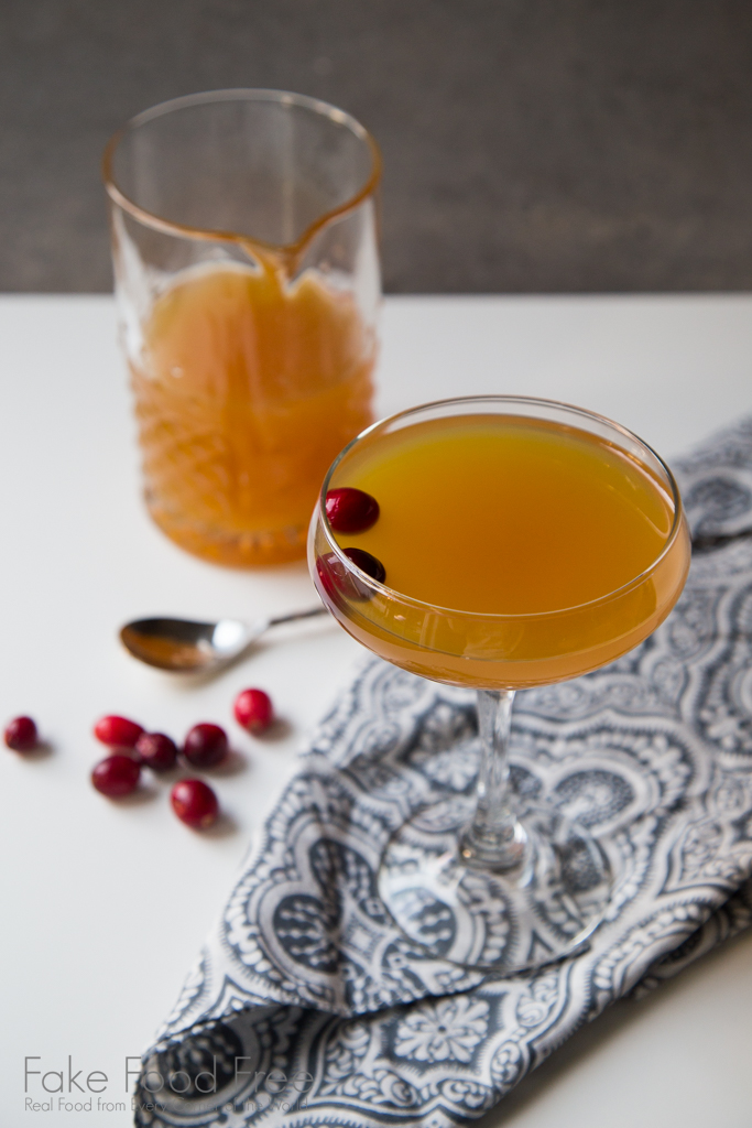 Apple Cider Rum Punch Cocktail Recipe | FakeFoodFree.com