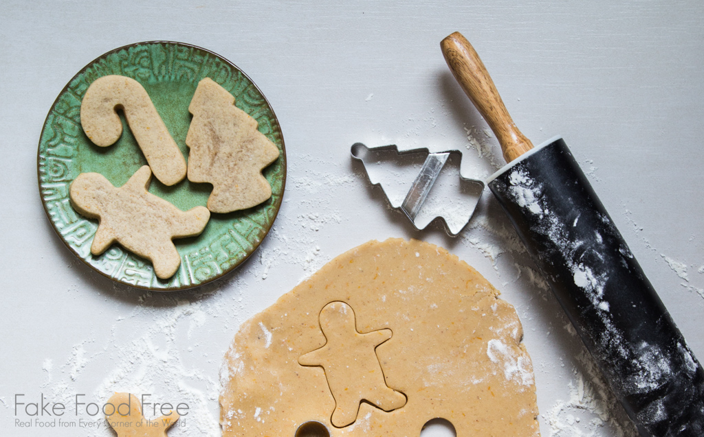 Holiday Cut-Out Cookies recipe made with spiced holiday ale from Food on Tap: Cooking with Craft Beer by Lori Rice