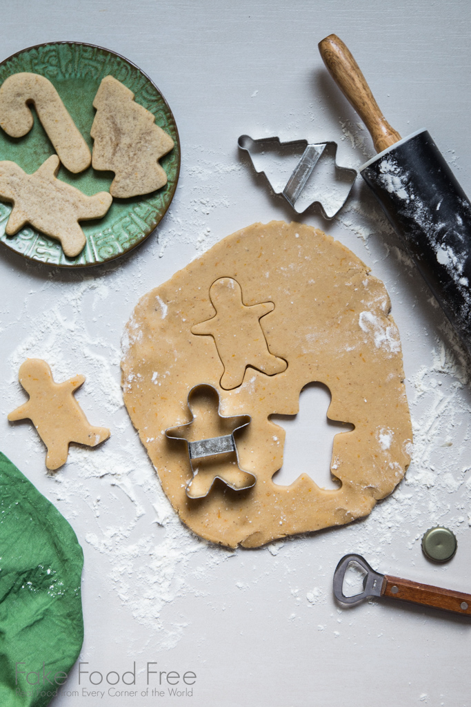 Holiday Ale Cut Out Cookies Recipe from the Cookbook Food on Tap: Cooking with Craft Beer by Lori Rice