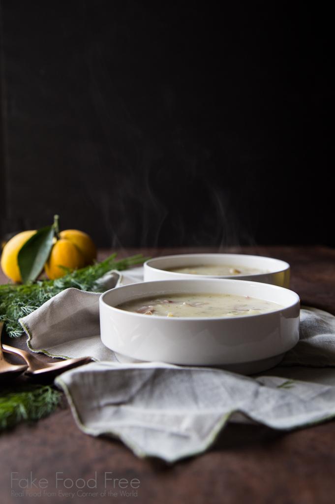 Rustic Potato Soup Recipe | FakeFoodFree.com