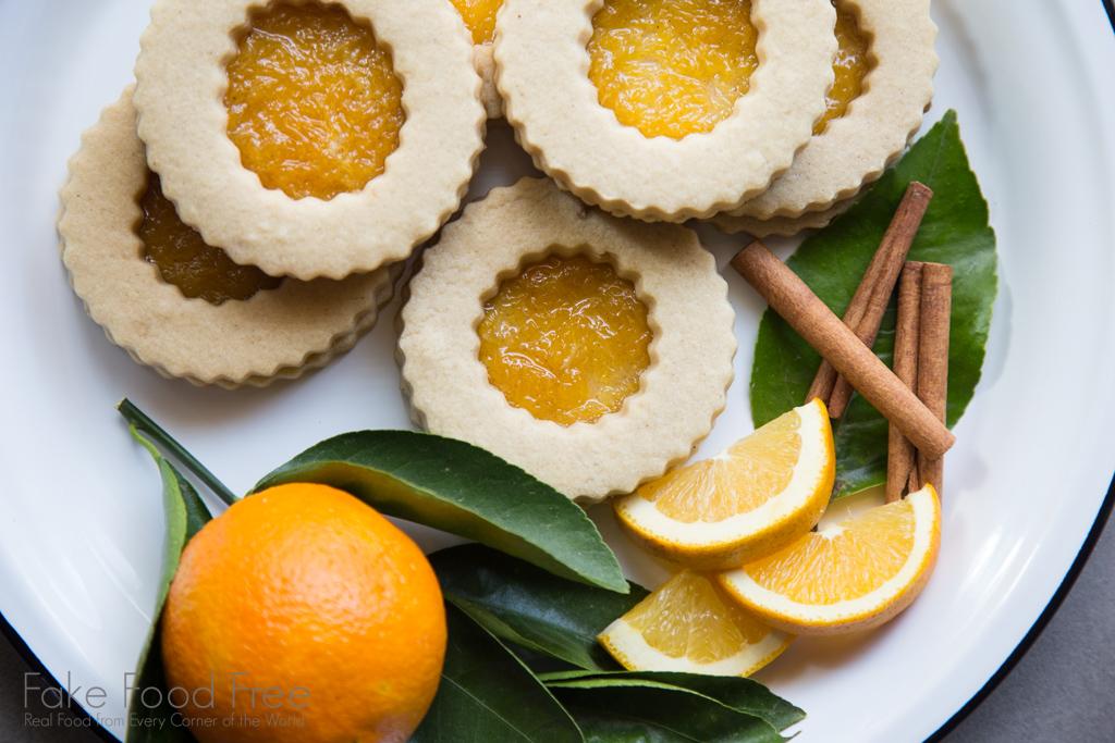 Ginger Rum Orange Jam Cookies | Recipe at FakeFoodFree.com