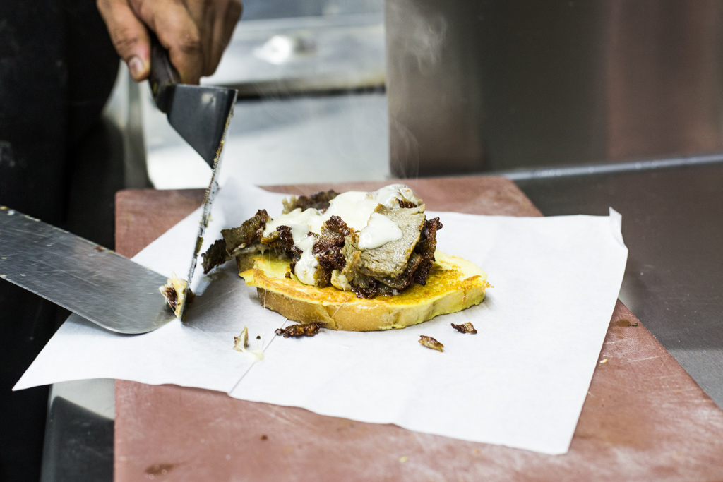 Monte Gyro inspired by Food on Tap Cookbook