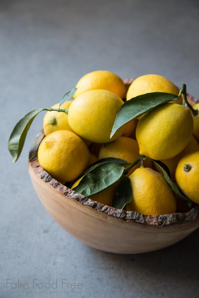 California Meyer Lemons. Photo by Lori Rice.