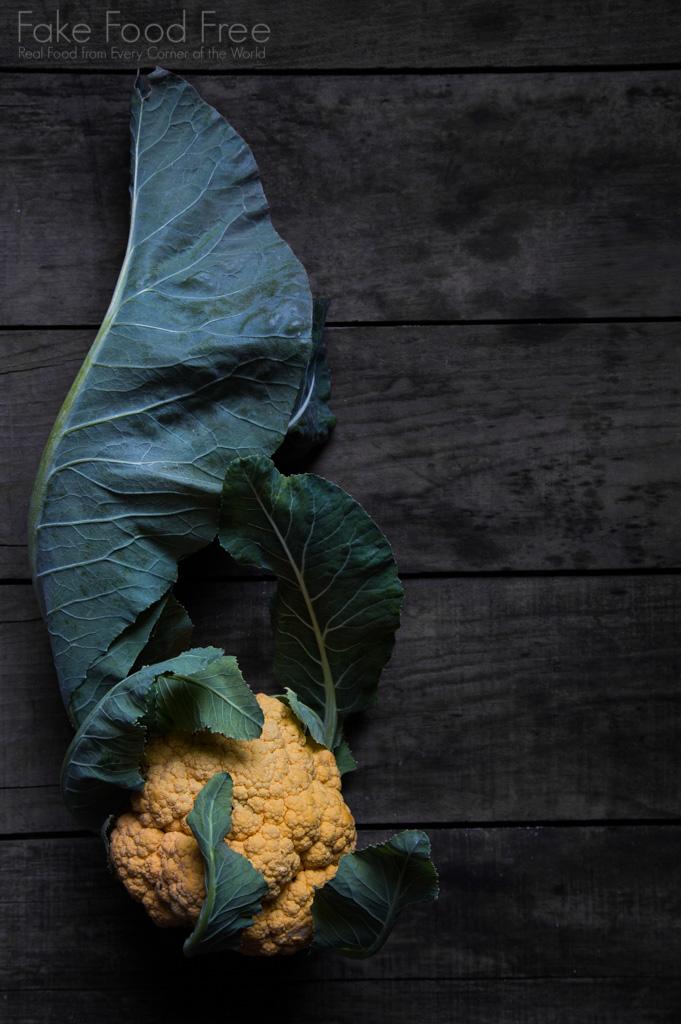 Orange Cauliflower. Photo by Lori Rice.