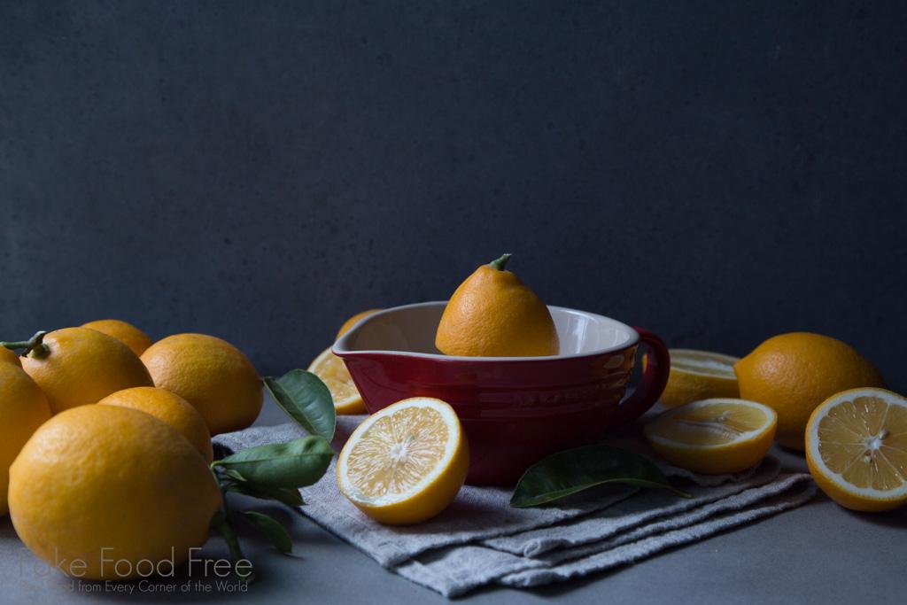 Meyer Lemons. Photo by Lori Rice.